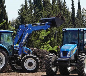 Agricultural TRACTORS - New Holland